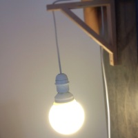 lámpara handmade...en diez minutos