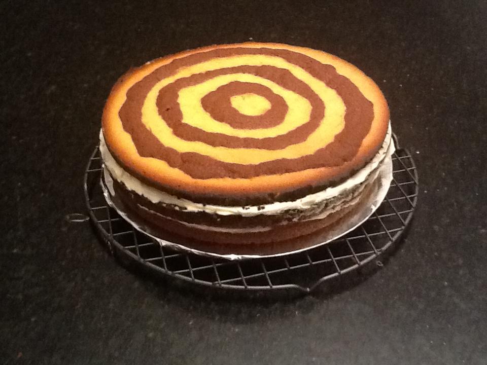 Baño Blanco Para Bizcocho:WE&CHOCOLATE…pastel dominó