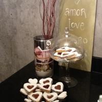 we & chocolate...galletas ojo de buey