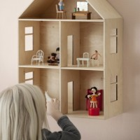 la evolución de las casitas de muñecas