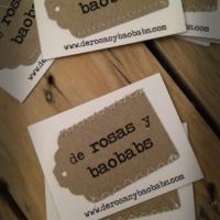 tarjetas de visita handmade