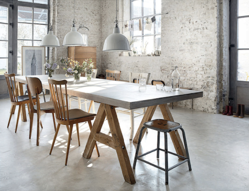 loving dining wood elle deco